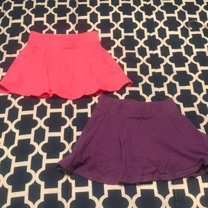 Size XS/4 The Children's Place Skorts